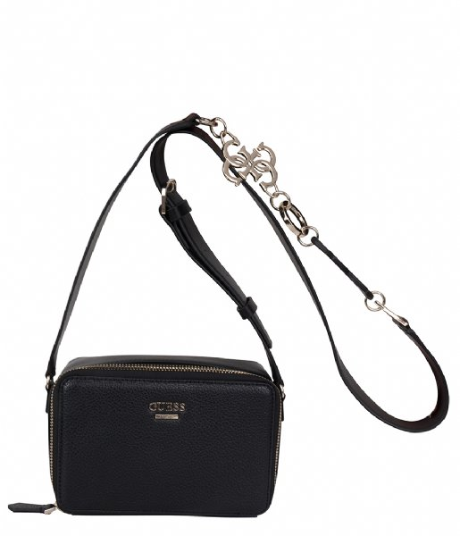 3d3df60677 Dania Mini Crossbody Top Zip Black Guess