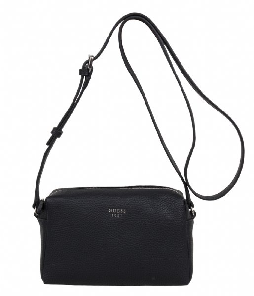 5a73cf3795 Flora Mini Crossbody Top Zip black Guess