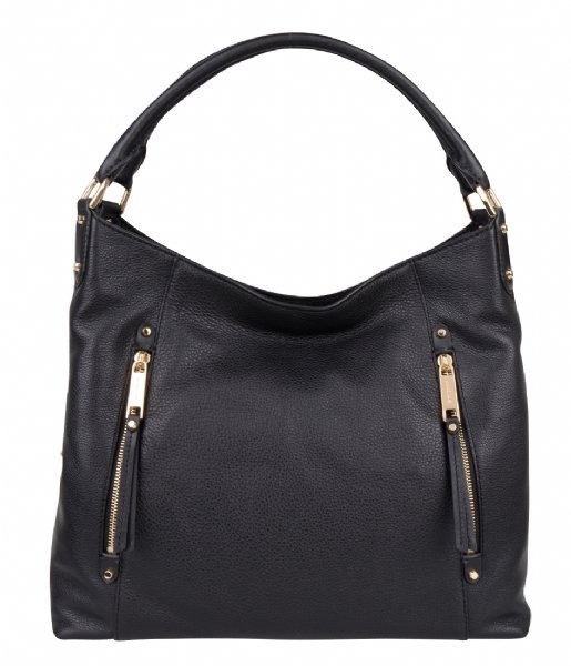 6f5d03c7c05625 Evie Large Shoulder Tote black & gold hardware Michael Kors | The Little  Green Bag